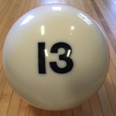 EBONITE #13 BILLIARD BALL-NBS1379