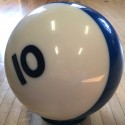 EBONITE- #10 BILLIARD BALL